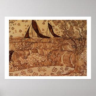 Enero Theodoor Toorop - poster de las ondas