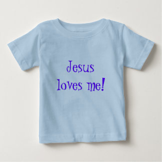 Enfants T-Shirt/Jesus Loves Me! Baby T-Shirt
