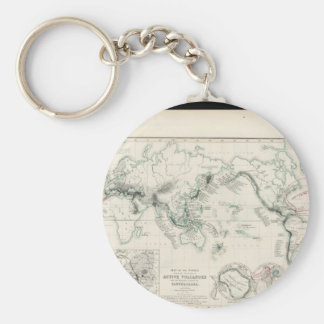 Enfeebled World Map 17 Keychain