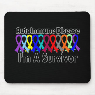 Enfermedad autoinmune soy un superviviente tapetes de ratón