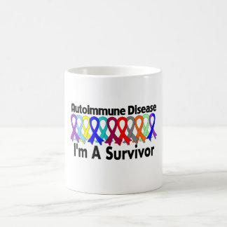 Enfermedad autoinmune soy un superviviente taza de café