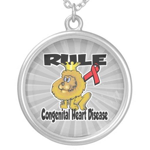 Enfermedad cardíaca congénita de la regla joyeria personalizada