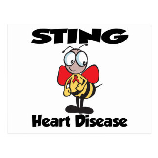 Enfermedad cardíaca de STING Tarjetas Postales