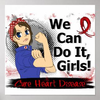 Enfermedad cardíaca del animado WCDI de Rosie Impresiones