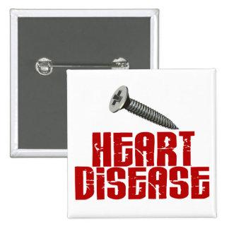 Enfermedad cardíaca del TORNILLO 1 Pin Cuadrado
