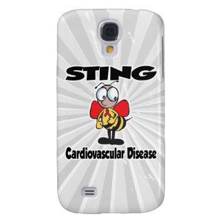 Enfermedad cardiovascular de STING Funda Para Galaxy S4