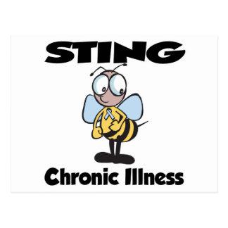 Enfermedad crónica de STING Tarjetas Postales