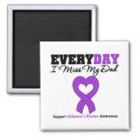 Enfermedad de Alzheimer cada Srta. My Dad del día  Imanes Para Frigoríficos
