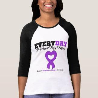 Enfermedad de Alzheimer cada Srta. My Mom del día T-shirts