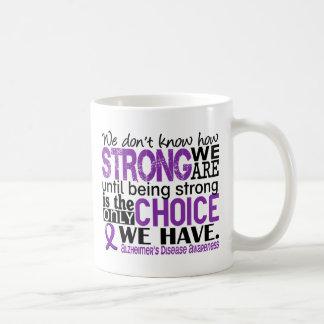 Enfermedad de Alzheimer cómo es fuerte somos Taza De Café