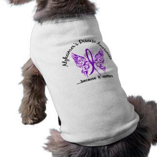 Enfermedad de Alzheimer de la mariposa 6,1 del Playera Sin Mangas Para Perro