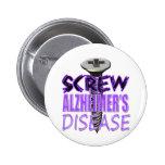 Enfermedad de Alzheimer del tornillo Pins