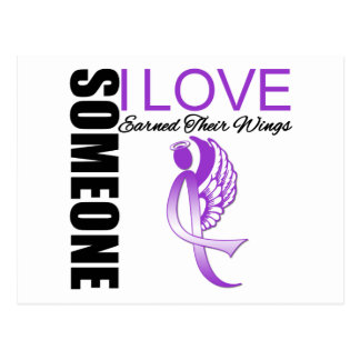 Enfermedad de Alzheimers alguien alas ganadas amor Postales