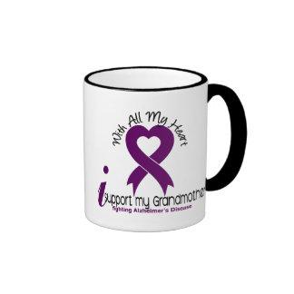 Enfermedad de Alzheimers apoyo a mi abuela Tazas