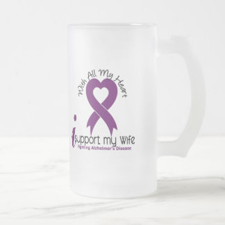 Enfermedad de Alzheimers apoyo a mi esposa Taza De Cristal