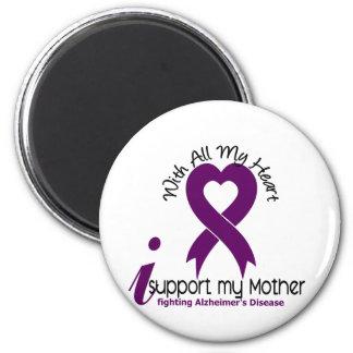 Enfermedad de Alzheimers apoyo a mi madre Imán De Frigorífico