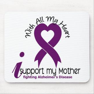 Enfermedad de Alzheimers apoyo a mi madre Tapete De Ratón
