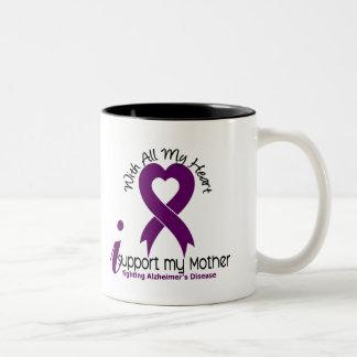 Enfermedad de Alzheimers apoyo a mi madre Tazas De Café