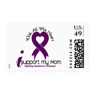 Enfermedad de Alzheimers apoyo a mi mamá Sello Postal