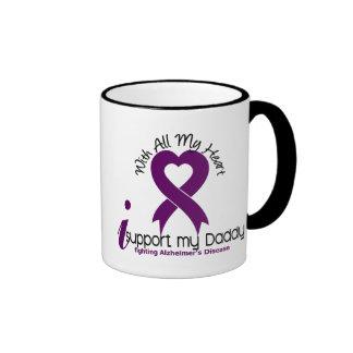 Enfermedad de Alzheimers apoyo a mi papá Tazas