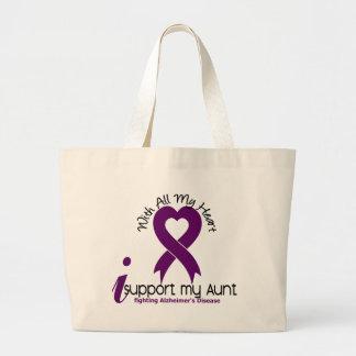 Enfermedad de Alzheimers apoyo a mi tía Bolsa Tela Grande