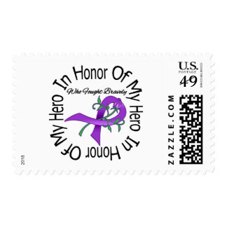 Enfermedad de Alzheimers en honor de mi héroe Sello