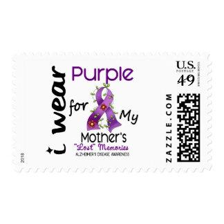 Enfermedad de Alzheimers llevo la púrpura para mi