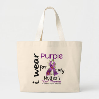 Enfermedad de Alzheimers llevo la púrpura para mi Bolsas