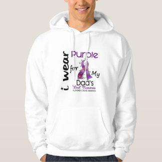 Enfermedad de Alzheimers llevo la púrpura para mi Sudadera