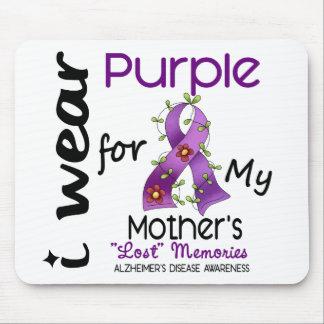 Enfermedad de Alzheimers llevo la púrpura para mi Tapetes De Ratones