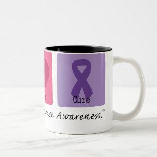 Enfermedad de Crohns de la curación del amor de la Taza De Café