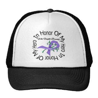 Enfermedad de Hodgkins en honor de mi héroe Gorras De Camionero