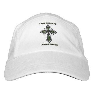 Enfermedad de Lyme de la cruz/de la conciencia… Gorra De Alto Rendimiento