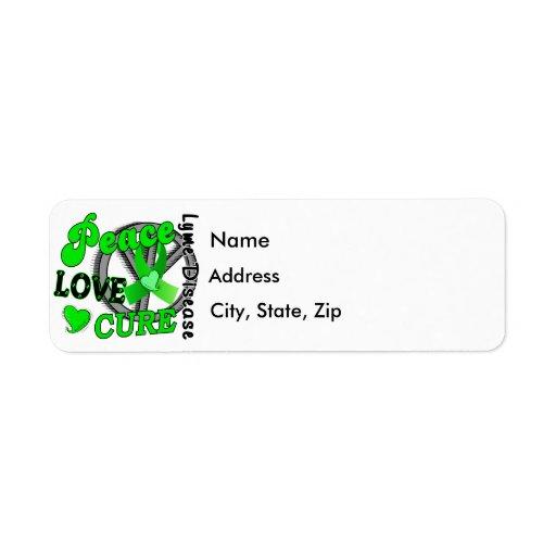 Enfermedad de Lyme de la curación del amor de la p Etiquetas De Remite