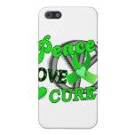 Enfermedad de Lyme de la curación del amor de la p iPhone 5 Fundas