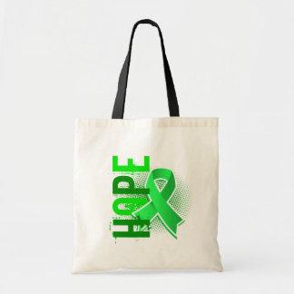 Enfermedad de Lyme de la esperanza 2 Bolsa Lienzo