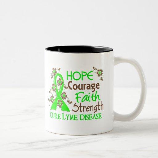 Enfermedad de Lyme de la fuerza 3 de la fe del val Taza