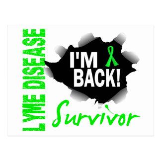 Enfermedad de Lyme del superviviente 7 Tarjeta Postal