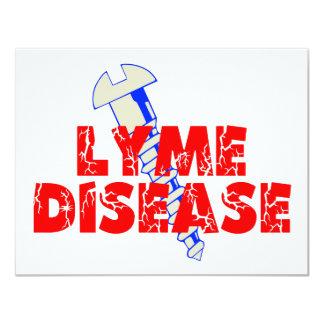 Enfermedad de Lyme del tornillo Anuncio Personalizado