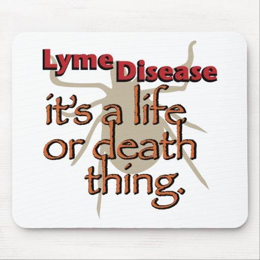 Enfermedad de Lyme - es una cosa de la vida o de l Alfombrillas De Ratón
