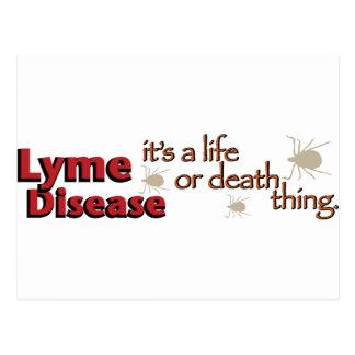 Enfermedad de Lyme - es una cosa de la vida o de l Tarjeta Postal
