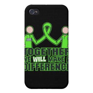 Enfermedad de Lyme junto haremos un Difference.pn iPhone 4 Cárcasa
