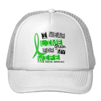 Enfermedad de Lyme llevo la verde lima para mi esp Gorras
