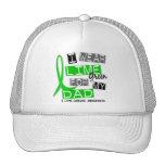 Enfermedad de Lyme llevo la verde lima para mi pap Gorro De Camionero