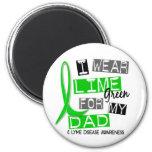Enfermedad de Lyme llevo la verde lima para mi pap Iman De Nevera