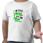 Enfermedad de Lyme llevo la verde lima para mi pap Camiseta