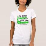 Enfermedad de Lyme llevo la verde lima para mi Camiseta