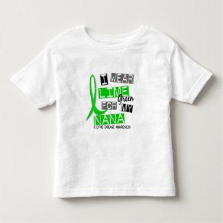 Enfermedad de Lyme llevo la verde lima para mi Remera