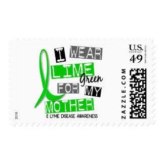 Enfermedad de Lyme llevo la verde lima para mi Franqueo