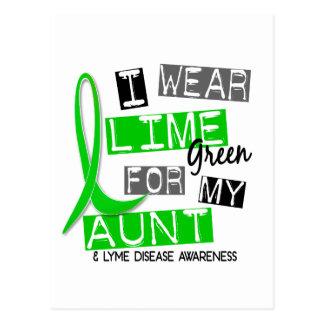 Enfermedad de Lyme llevo la verde lima para mi tía Postal